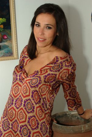 In a flowery dress 02
