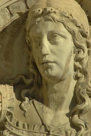 nouse: sculptured face