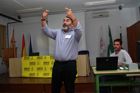 amnesty: Antequera (Malaga) Spain 25th September 2010 - Amnesty International conference