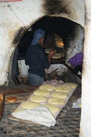 Marrakesh (Morocco) 6th January 2010.- Bakery in Marrakesh 01