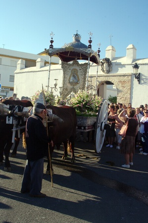 pilgrimage: Carmona (Sevilla) Spain.4th September 2011.- Yearly pilgrimage in honor of the patron saint.- 11
