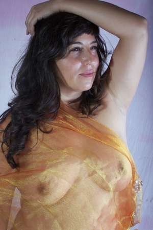 Busty in transparent clothes 3 Stock Photo - 10942273