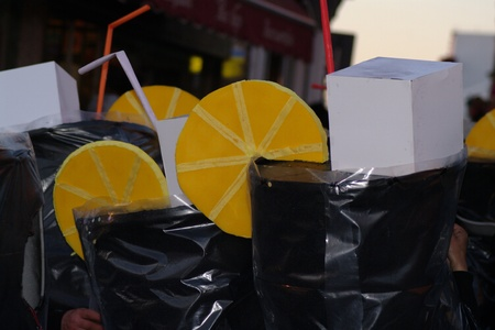 carmona: Carmona (Seville) 25th Febrary 2012.- The Carnival Parade. Lemonades 2 Editorial