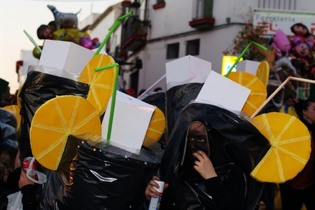 Carmona (Seville) 25th Febrary 2012.- The Carnival Parade. Lemonades 1