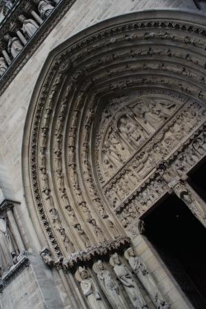 devanture: Fa�ade de Nortre Dame de Paris 3
