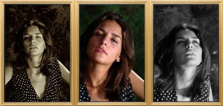 triptych: Triptych 1  Excitement