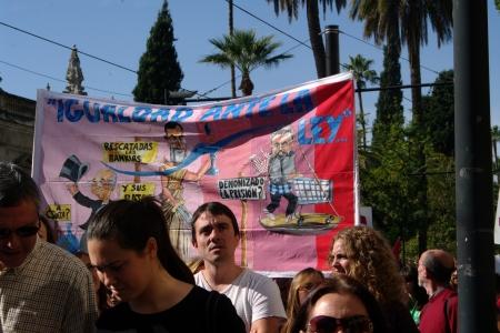 Seville, Spain, 14 November 2012.- Demonstrators in the General strike 13 Editorial