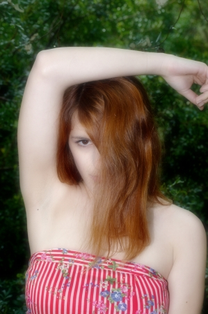 bare shoulders: Bare shoulders   Stock Photo