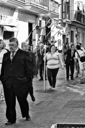 procession: San Fernando (C�diz), Espa�a, 30 de junio 2013: Procesi�n 79