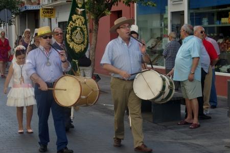 procession: San Fernando (C�diz), Espa�a, 30 de junio 2013: Procesi�n 76