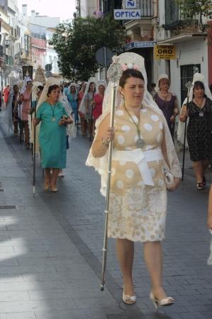 procession: San Fernando (C�diz) Espa�a, 30 de junio 2013: Procesi�n 75 Editorial