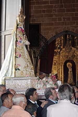 procession: San Fernando (C�diz), Espa�a, 30 de junio 2013: Procesi�n 59