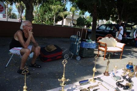 Almu�ecar  Granada  Spain  21st July 2013 - Street photography  Street market 95