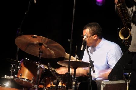 Almu�ecar  Granada  Spain  21st July 2013 - Gregory Porter s band 79