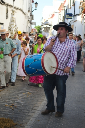 Carmona  Sevilla  1st September 2013  Yearly pilgrimage in honour of the Patron Saint 15 Editorial