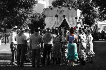 carmona: Carmona  Sevilla  1st September 2013  Yearly pilgrimage in honour of the Patron Saint 2