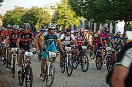 carmona: Carmona  Seville  15th September 2013  Cycling marathon 3