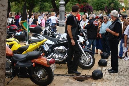 carmona: Carmona  Sevilla  Spain 29th September 2013  Motorbikers concentration  Gatherings 23