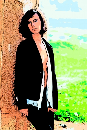 open shirt: Open shirt and jacket 179 Illustration