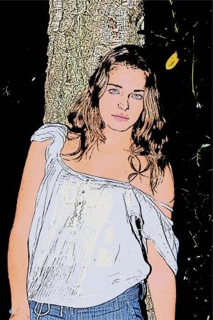 Spalla nuda 156 Archivio Fotografico - 22748823