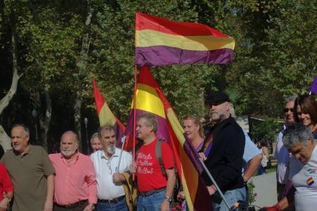 republican: Sevilla, Spain  12th October 2013  Republican concentration 42