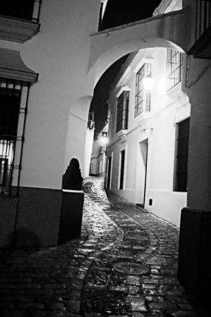carmona: Carmona  Sevilla  at night 39 Stock Photo