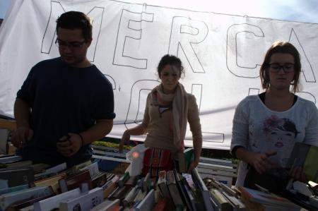 carmona: Carmona -Seville- Spain 3rd November 2013 - Solidarity book Fair 9