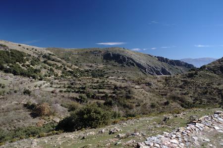Report on the Alpujarra Granada Spain 34 - Mountains  Stock Photo