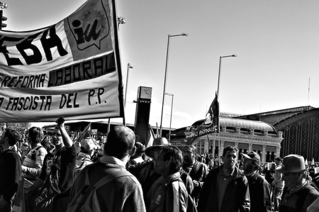 Madrid, 22nd March 2014 - Dignity march 60