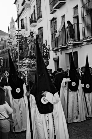 carmona: Carmona  Sevilla  Spain 13th April 2014  Starting procession of the Holy Week 39 Editorial
