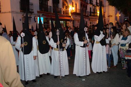 fraternit�: Carmona Sevilla Espagne 13th Avril 2014 Procession de la Semaine Sainte 60 Saint Philip fraternit�