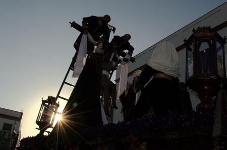 fraternit�: Carmona S�ville Espagne, le 16 avril 2014 de la Semaine Sainte c�l�brations Saint Francis fraternit� procession 40 �ditoriale