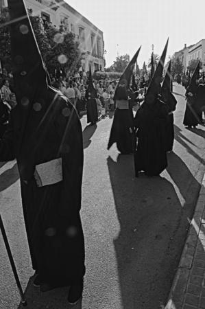 fraternidad: Carmona Sevilla Espa�a, 16 de abril de 2014 las celebraciones de Semana Santa San Francisco hermandad procesi�n 29