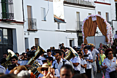 carmona: 31st August 2014 - Carmona - Sevilla - Spain - Yearly pilgrimage in honour of the patron saint XXX