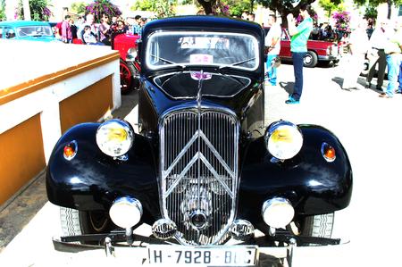 carmona: Carmona (Sevilla) Spain - 26-10--2014 - Old car and motorcycle concentration 4