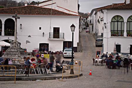 huelva: Fuenteheridos, Huelva, 22 November, 2014.- Main square of the village 3 Editorial