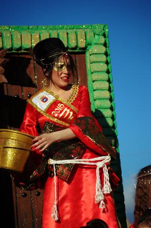 carmona: Carmona, Sevilla, Spain 21st February 2015 Carnival Parade