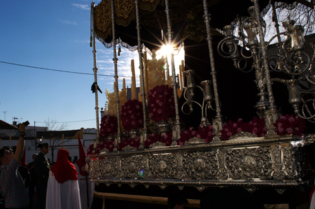 holy week in seville: Carmona (Seville) 31 March 2015.- Holly Week celebrations Editorial