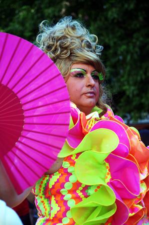 gay parade: Sevill Spain 27-06-2015 - Gay Pride Demonstration and parade