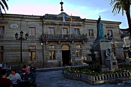 galicia: Tui - Galicia - Spain - July 9, 2015 Heritage outdoor