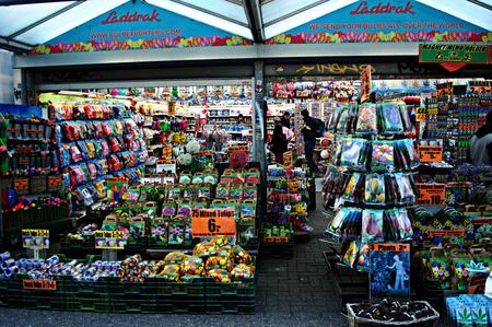 the netherlands: Netherlands, Amsterdam 11th October 2015 - Flower market
