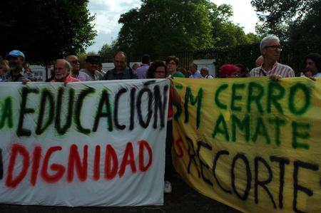 behalf: Seville, Spain 17th October2015 - Demonstration in behalf of a hunger striker Editorial