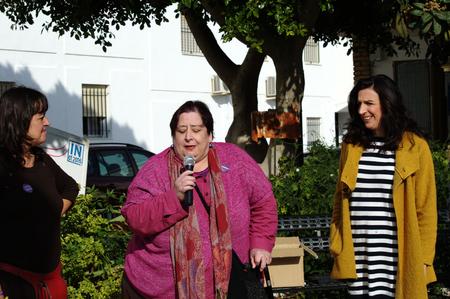 carmona: Carmona- Seville - Spain - 12th Decembre 2015 - Political meeting for an electoral campaign