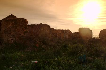 derelict: Report on derelict houses in Carmona - Sevilla