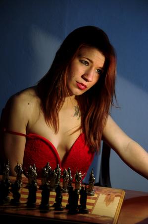 chess player: Chess player Stock Photo