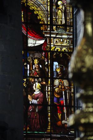 Inside a church in Ghent
