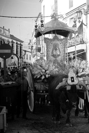 Carmona (Seville) 2nd September 2017 - Yearly pilgrimage in honor of the patron saint