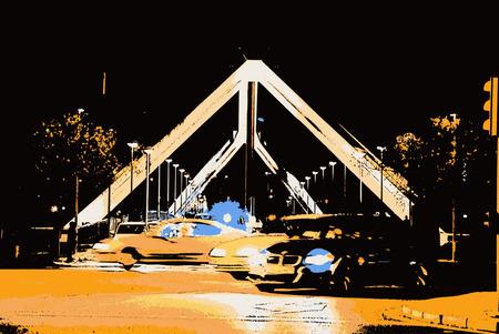 The Bridge of La Barqueta in Seville