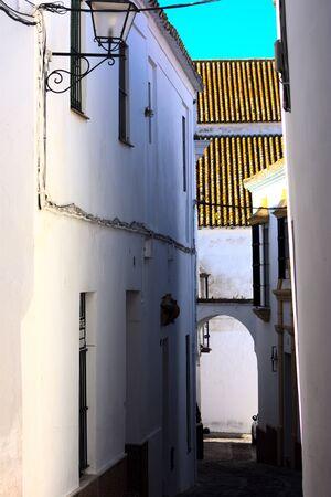 Empty streets in Carmona (Seville) during the COVID epidemics Reklamní fotografie