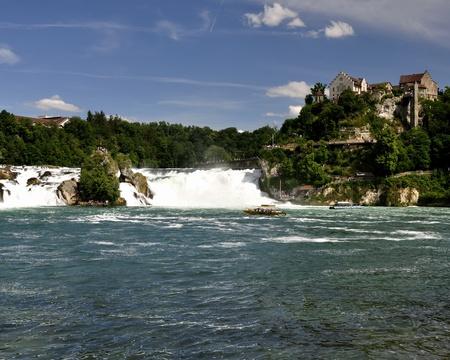 Rheinfall Switzerland. 3 Stock Photo